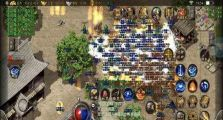 今日新开网页传奇里游戏天狼神戒5.0攻击PK之王分享